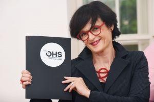 Podelitev nagrad OHS award Lenka Kavcic