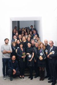 Podelitev nagrad OHS AWARD 2019 vsi nagrajenci - skupinska fotografija