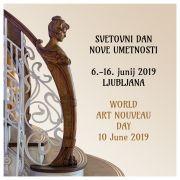 Svetovni dan art nouveauja - sodobne umetnosti 2019, vabilo