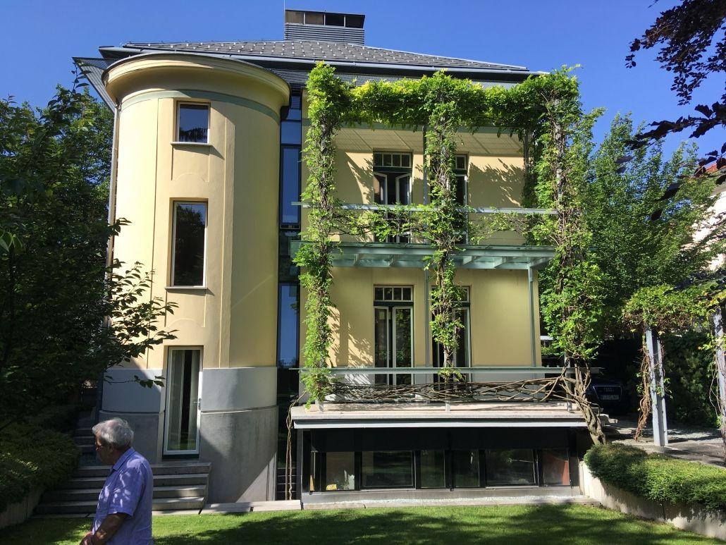 Prenova secesijske hiše na Ulici talcev 4 v Ljubljani