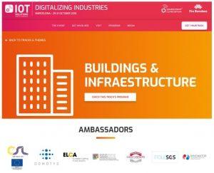 IOT solutions kongres stavbe in infrastruktura