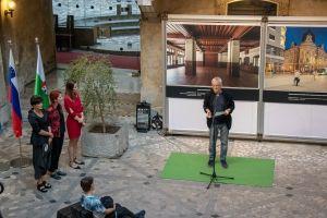 otvoritev razstave sodobna ljubljanska arhitektura