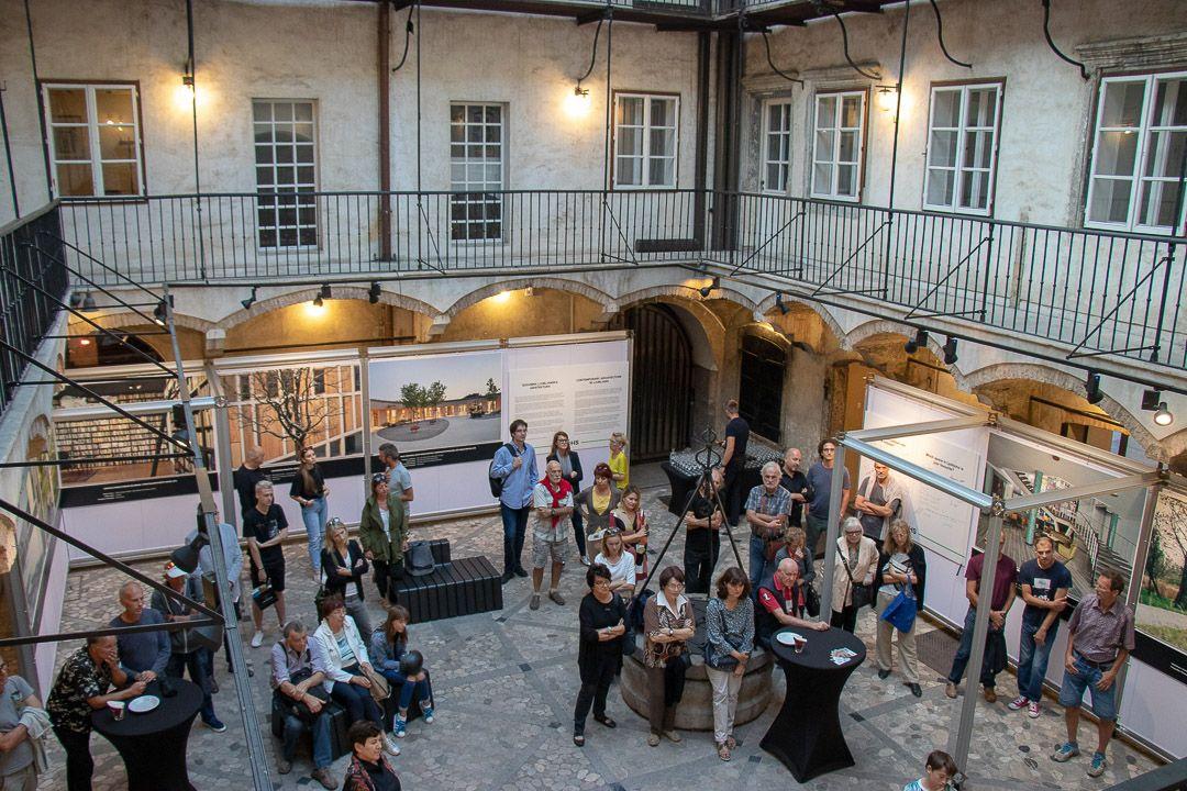 SLAVIMO DOSEŽKE VRHUNSKE ARHITEKTURE – otvoritev razstave 'Sodobna ljubljanska arhitektura'